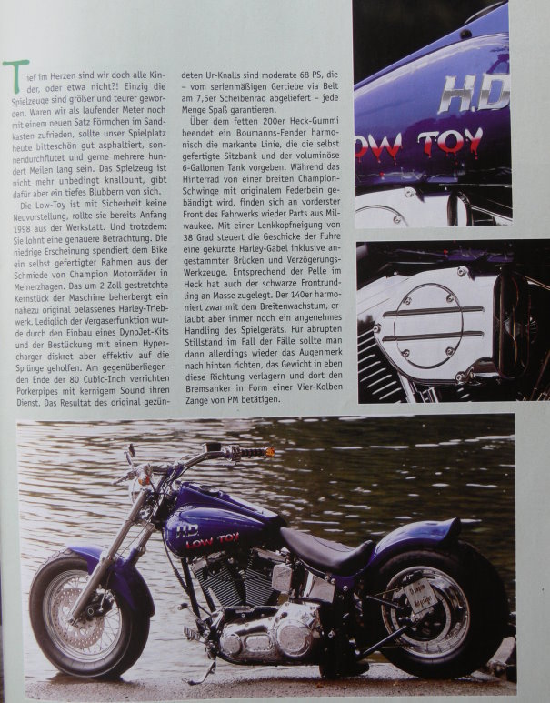"Quelle ""Thunder Cycles"" 03/99"