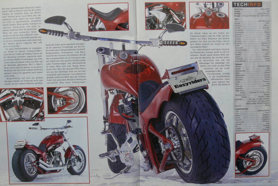 "Quelle ""Easyriders"" 04/00"
